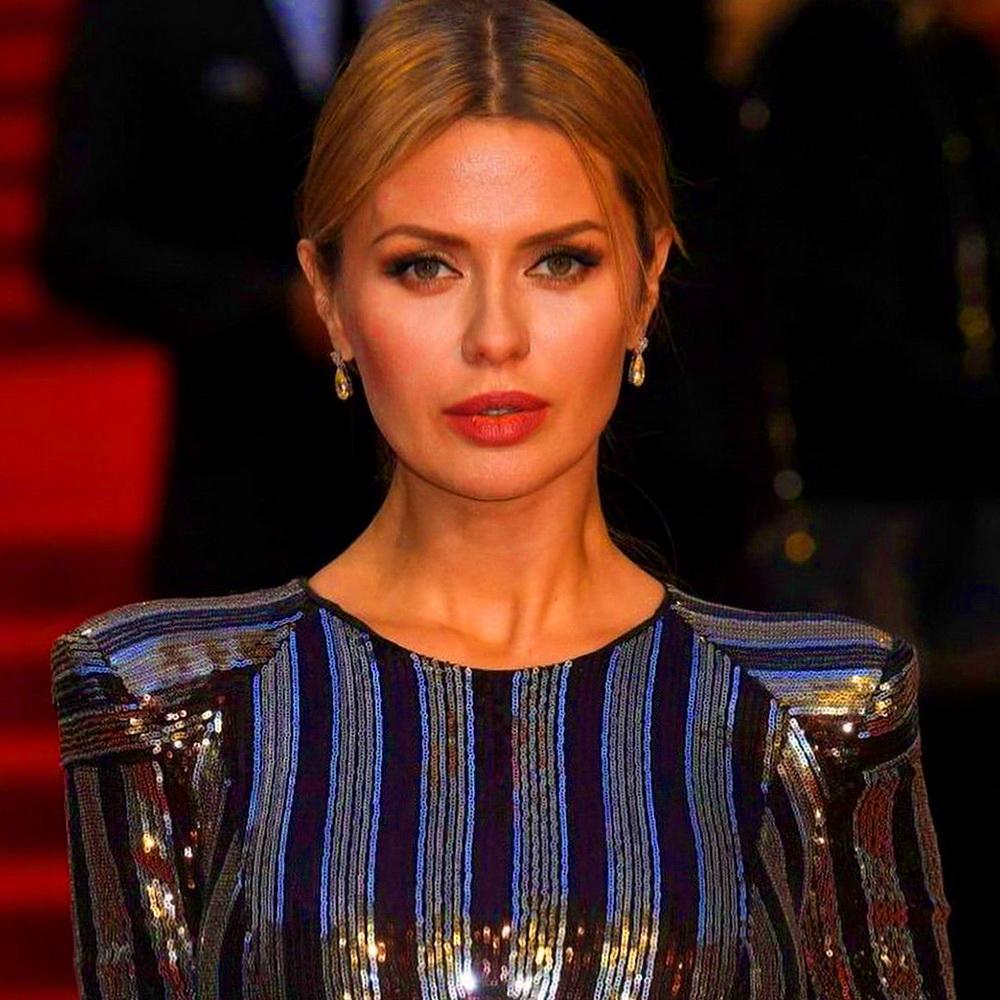 Виктория Боня на показе мод
